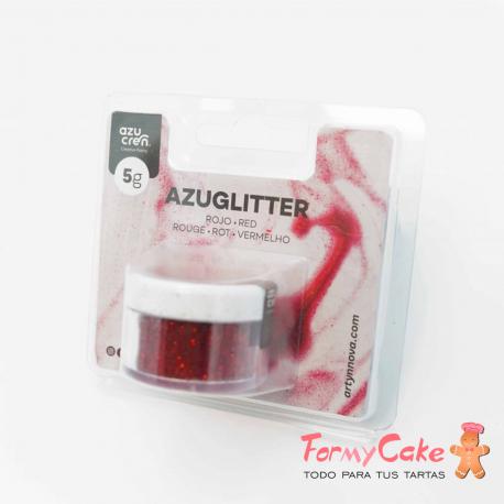 Purpurina Decorativa Roja 5gr Azuglitter