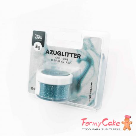 Purpurina Decorativa Azul 5gr Azuglitter