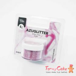 Purpurina Decorativa Rosa 5gr Azuglitter