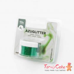 Purpurina Decorativa Verde 5gr Azuglitter