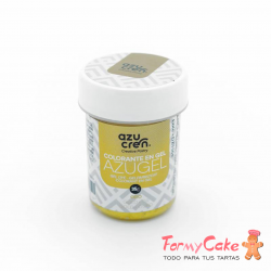 Colorante Gel Oro 35gr Azugel