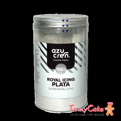 Royal Icing Plata 150gr Azucren