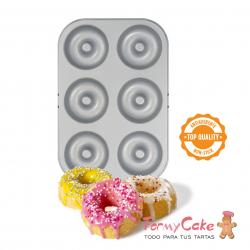 Molde Metal 6 Donuts Decora