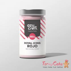 Royal Icing Rojo perlado 150gr Azucren
