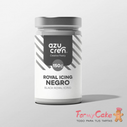 Royal Icing Negro 150gr Azucren