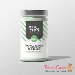 Royal Icing Verde 150gr Azucren