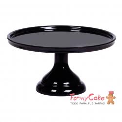 Stand Para Tartas Pequeño Negro 23cm
