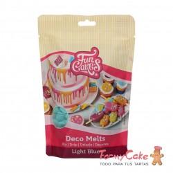 Deco Melts Azul Claro 250gr Funcakes