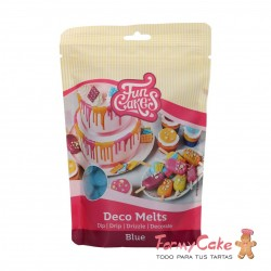 Deco Melts Azul 250gr Funcakes