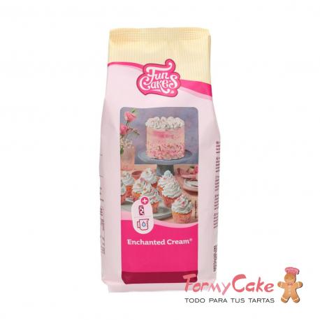 Mezcla Crema de Chantilly 900 g Funcakes