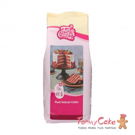 Mezcla Red Velvet 1Kg Funcakes
