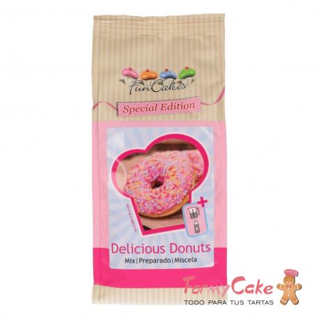 Mezcla Donuts Edición Especial 500gr Funcakes