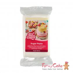 Fondant Blanco Brillante 250gr Funcakes