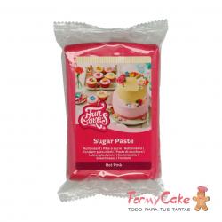 Fondant Rosa Intenso 250gr Funcakes
