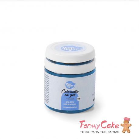 Colorante Gel Azul 50gr Pastkolor