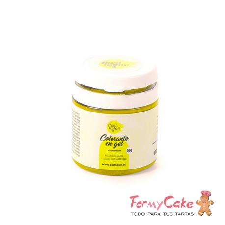 Colorante Gel Amarillo 50gr PastKolor