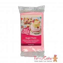 Fondant Rosa Claro 250gr Funcakes
