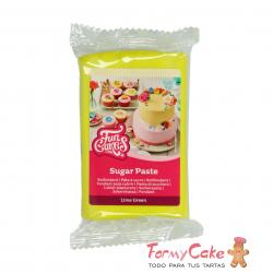 Fondant Verde Lima 250gr Funcakes