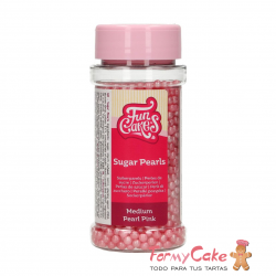 Perlas Rosas Perladas 80gr Funcakes