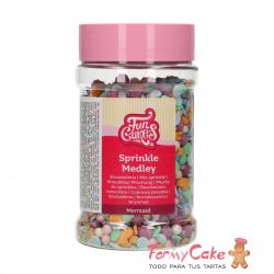 Sprinkle Medley -Sirena- 180g Funcakes