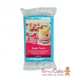 Fondant Azul Mar 250gr Funcakes