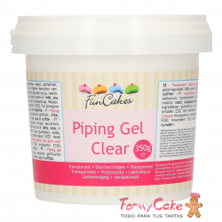 Piping Gel Clear 350g. Funcakes