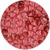 Corazones De Azucar Color Burdeos 80gr Funcakes