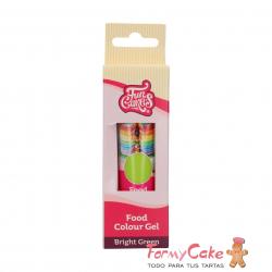 Colorante Gel Bright Green 30g Funcakes