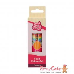 Colorante Gel Orange 30g Funcakes