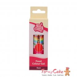Colorante Gel Red 30g Funcakes