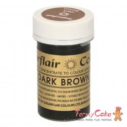 Colorante Pasta Dark Brown Sugarflair 25gr