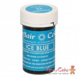 Colorante Pasta Ice Blue Sugarflair 25gr