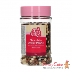 Bolitas Chocolate Crispy Pearls -Mix- 155g Funcakes