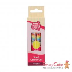 Colorante Gel Yellow 30g Funcakes