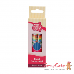 Colorante Gel Royal Blue 30g Funcakes
