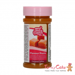 Aroma En Pasta Caramel Toffe 100gr Funcakes