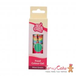 Colorante Gel Mint Green 30g Funcakes