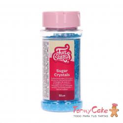 Cristales De Azucar Azul 80gr Funcakes