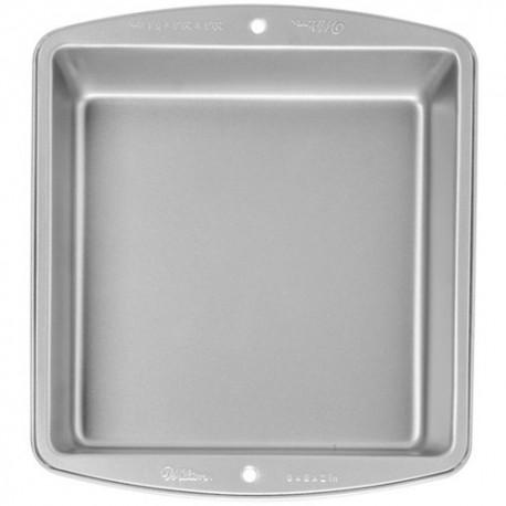 Molde Metal Wilton Cuadrado 20x20x5
