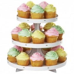 Stand para Cupcakes Blanco Wilton