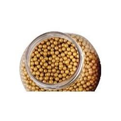 Perlas Doradas 100gr Decora