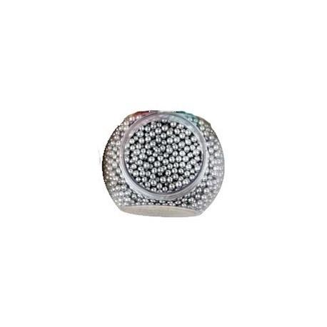 Perlas Plata 100gr Decora