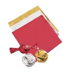 Envoltorios Metalizados Rojos 50ud Wilton