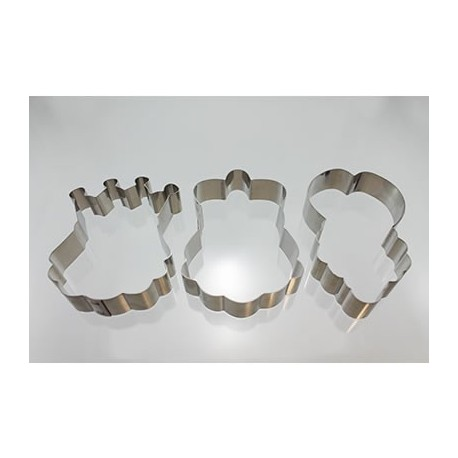 Cortante Reyes Magos 9 cm Cutter