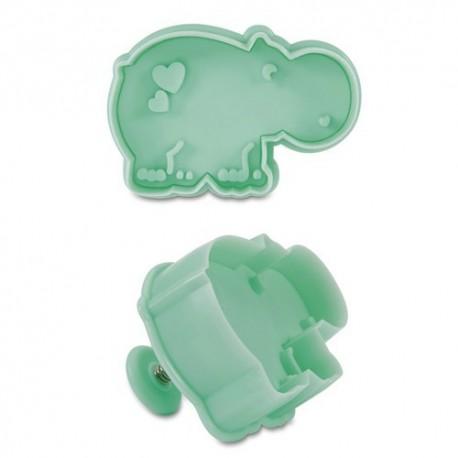 Cortante Hipopótamo 6 cm Stadter