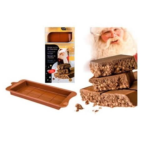 Molde Silicona Ibili Molde Turrón Chocolate