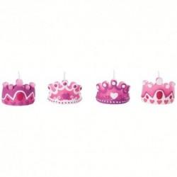 Velas para Tartas Princesa 4ud Wilton