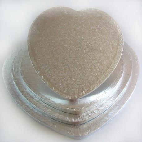 Base Corazón Gruesa para Tartas 27cm Funcakes