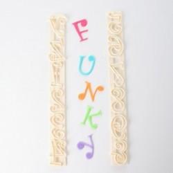 Cortantes de Alfabeto y Números Funky FMM