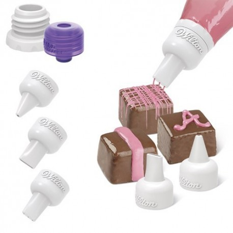 Set Boquillas Para Candy Melts Wilton